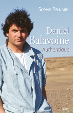 Couv Daniel Balavoine, authentique