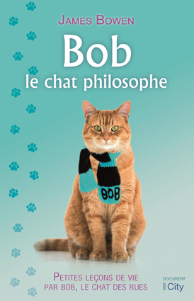 Couv Bob, le chat philosophe